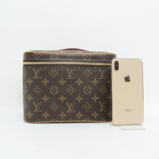 Louis Vuitton Beauty Case Nice Cosmetic Brown Monogram Canvas Image 1