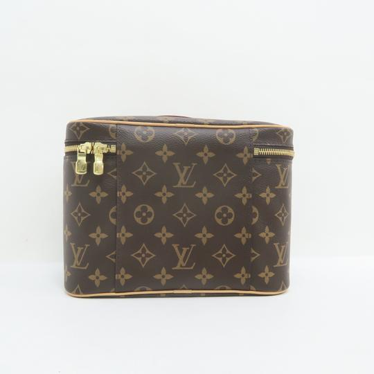 Louis Vuitton Beauty Case Nice Cosmetic Brown Monogram Canvas Image 2