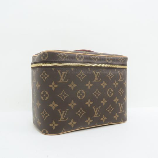 Louis Vuitton Beauty Case Nice Cosmetic Brown Monogram Canvas Image 3