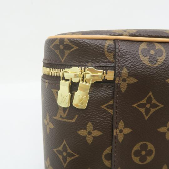 Louis Vuitton Beauty Case Nice Cosmetic Brown Monogram Canvas Image 8