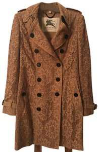 Burberry Lace Belted Trench Coat