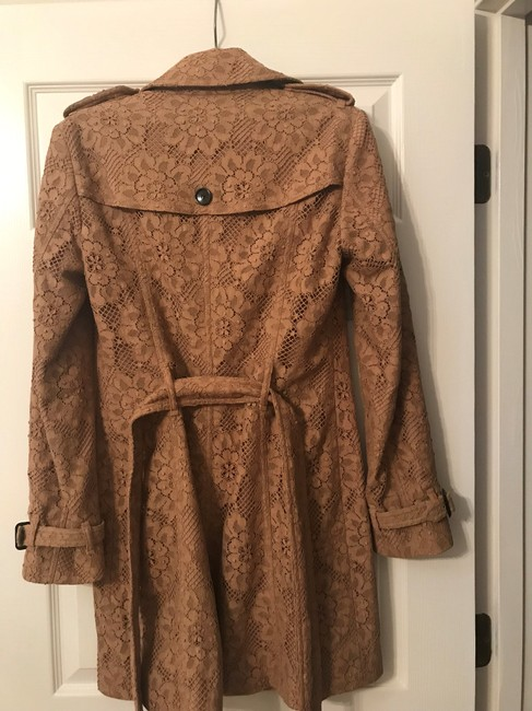 Burberry Lace Belted Trench Coat Image 1
