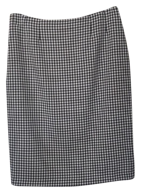 Item - Black and White Pencil Skirt Size 6 (S, 28)