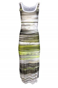 D. Exterior Day Dresses Striped Top green