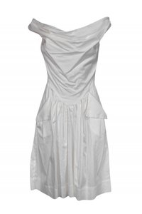 Vivienne Westwood short dress white Day Cotton on Tradesy