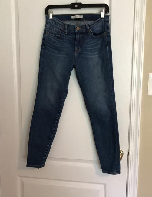J Brand Straight Leg Jeans-Light Wash Image 1