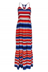 Maxi Dress by Parker Day Red White