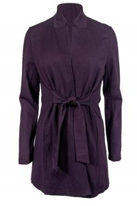 Eileen Fisher Belted purple Jacket