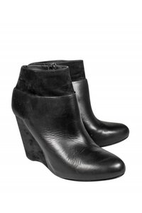 Vince Leather black Boots