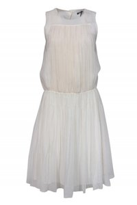Marissa Webb short dress cream Day Ivory Pleated on Tradesy