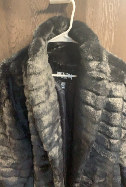 Victoria's Secret Fur Coat Image 2