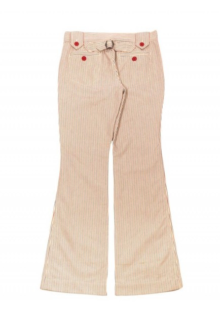 Marc Jacobs Casual Pinstripe Highwaisted Flare Pants cream Image 1