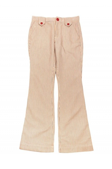Marc Jacobs Casual Pinstripe Highwaisted Flare Pants cream Image 2