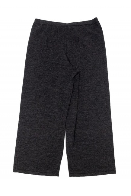 Eileen Fisher Casual Grey Cropped Wide Leg Pants Image 1