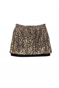 Club Monaco Dot Design Mini Skirt gold