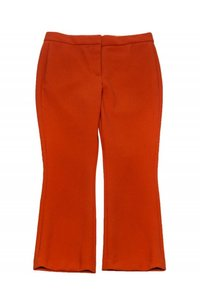 Theory Casual Capri/Cropped Pants orange