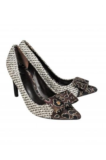 Tory Burch Basic Woven Fabric Pumps Image 0