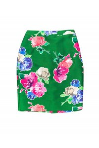 Kate Spade Floral Print Skirt green