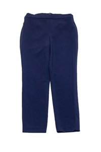 Theory Navy Tapered Trouser Pants
