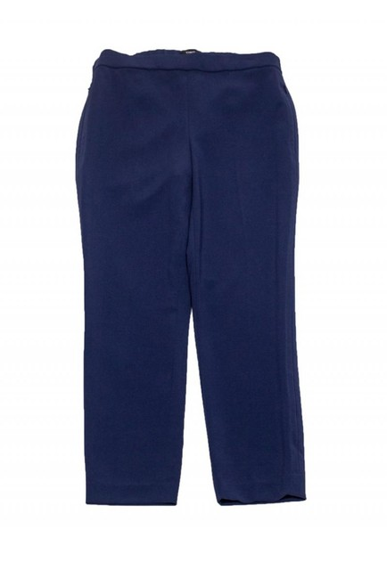Theory Navy Tapered Trouser Pants Image 2