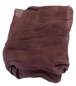 Etro Gorgeous silk scarf red wine color