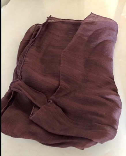 Etro Gorgeous silk scarf red wine color Image 1