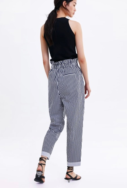 Zara Trouser Pants blue Image 3