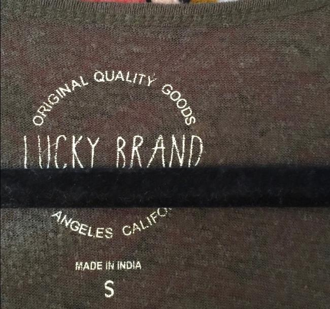 Lucky Brand Top green Image 5