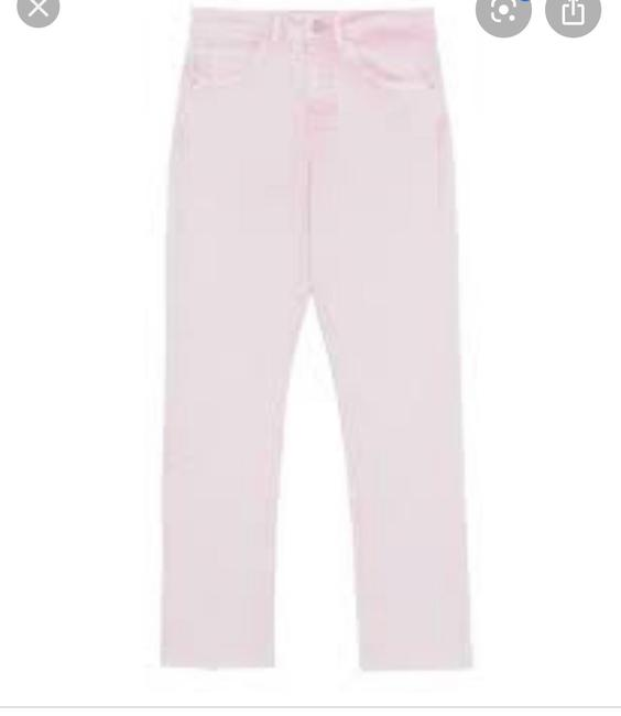 Zara Capri/Cropped Denim-Light Wash Image 2