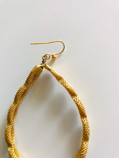 Other Large gold tone hoops Image 1
