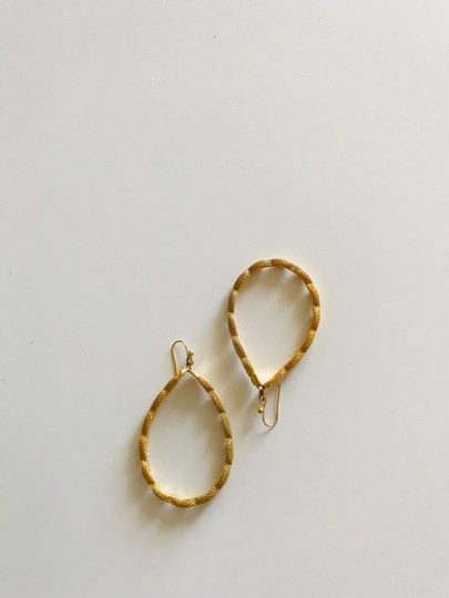 Other Large gold tone hoops Image 3