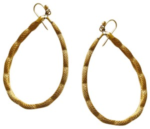 Other Large gold tone hoops