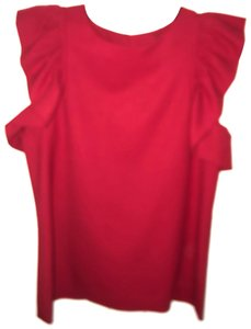 Rachel Zoe Top deep red