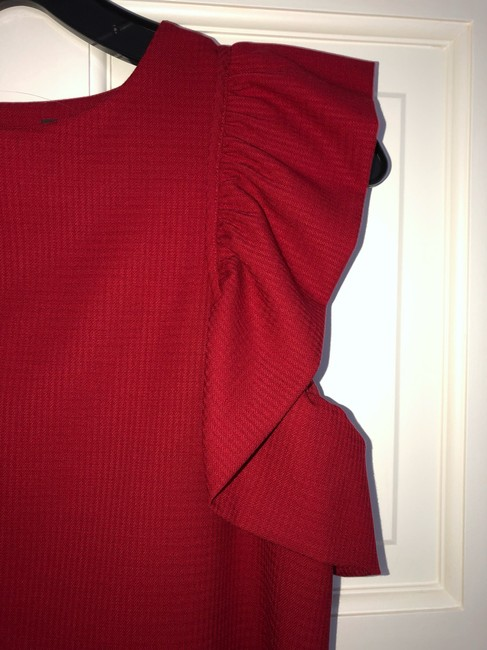 Rachel Zoe Top deep red Image 1