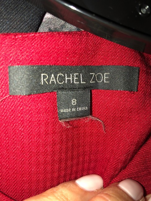 Rachel Zoe Top deep red Image 4