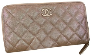 Chanel 2019 rose gold wallet