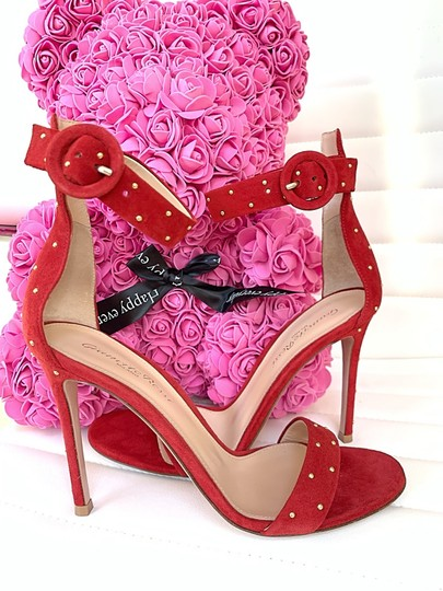 Gianvito Rossi red Sandals Image 1
