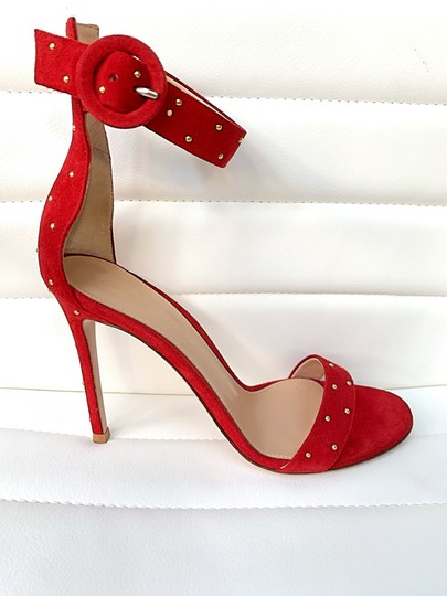 Gianvito Rossi red Sandals Image 4