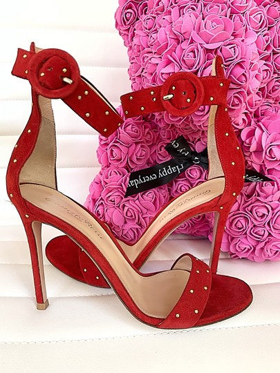 Gianvito Rossi red Sandals Image 9