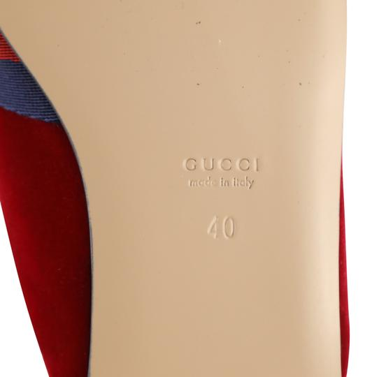 Gucci Red Mules Image 10