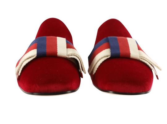 Gucci Red Mules Image 5