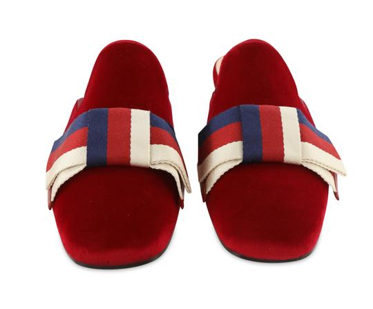 Gucci Red Mules Image 6