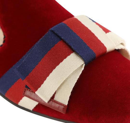 Gucci Red Mules Image 7
