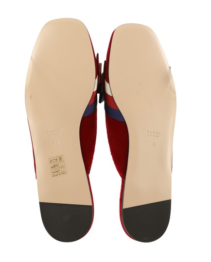 Gucci Red Mules Image 9