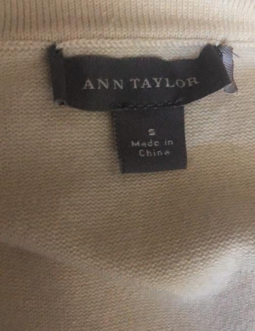Ann Taylor Top Ivory Image 6