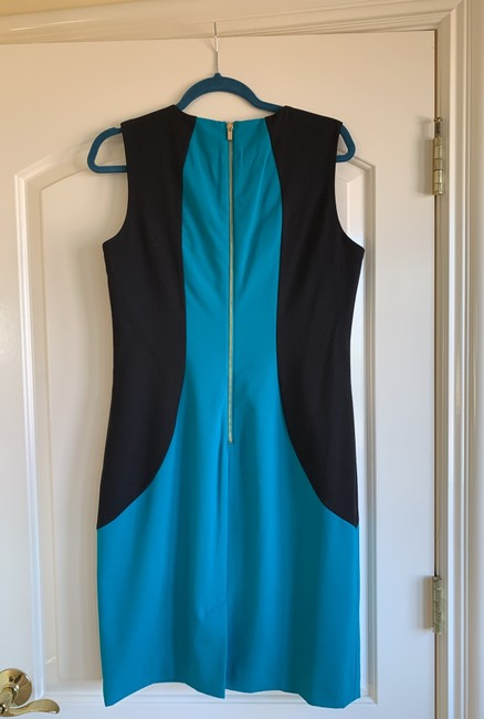 Calvin Klein short dress Black and teal( color darker than photos show) on Tradesy Image 1