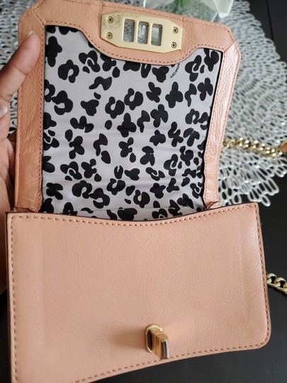 Rebecca Minkoff Leather Clutch Chain Quilted Cross Body Bag Image 3