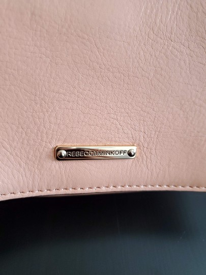 Rebecca Minkoff Leather Clutch Chain Quilted Cross Body Bag Image 5