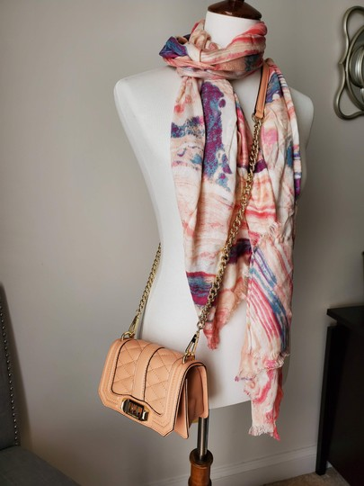 Rebecca Minkoff Leather Clutch Chain Quilted Cross Body Bag Image 6