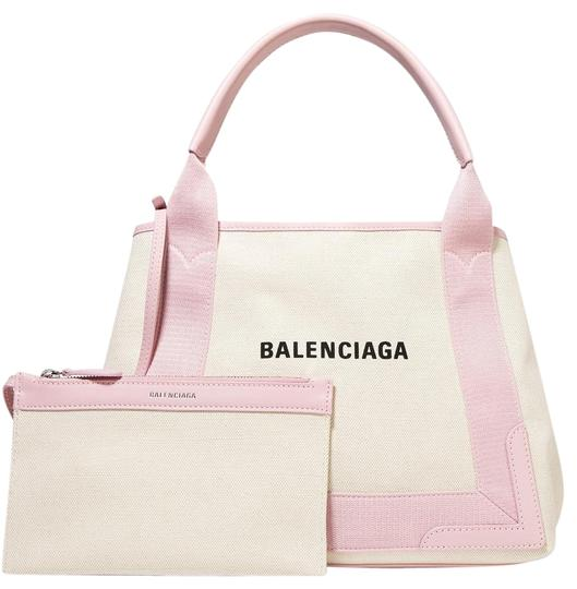 Preload https://img-static.tradesy.com/item/25950971/balenciaga-leather-trimmed-logo-print-tote-canvas-cross-body-bag-0-1-540-540.jpg